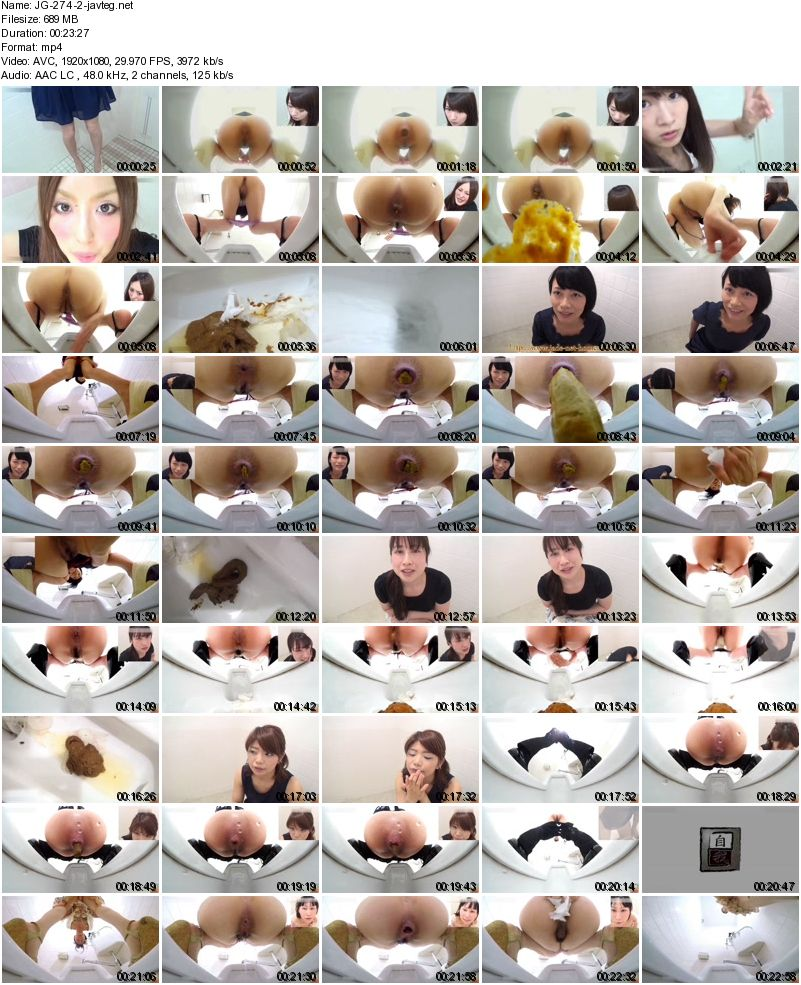 [JG-274] 自画撮り投稿 直下うんこ記録 FILE.3 放尿 92分 Self-portrait post Directly below poop record FILE. 3 Pissing 92 minutes Defecation 2.00 GB