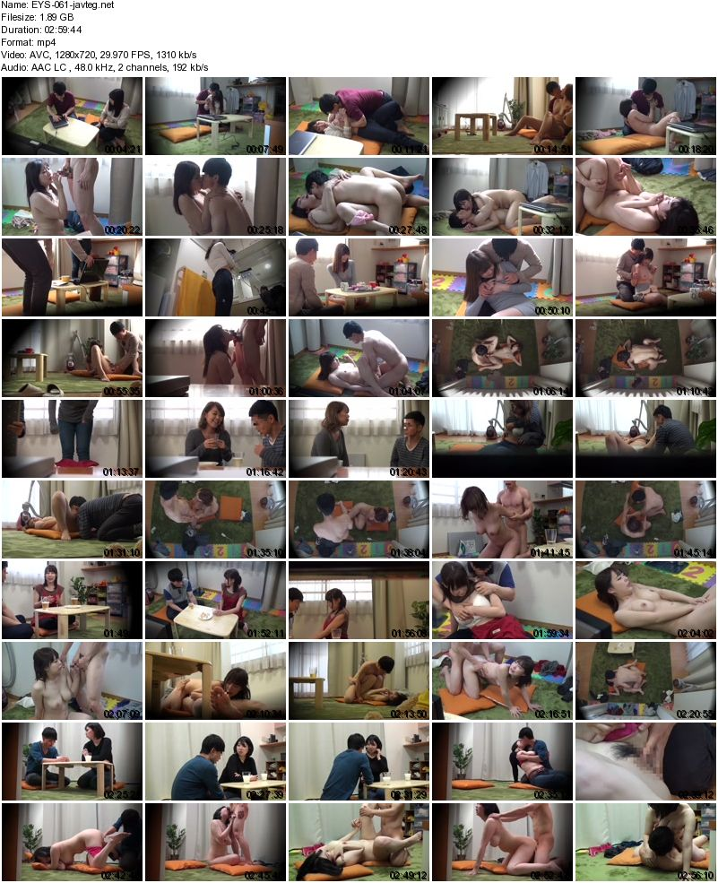 [EYS-061] お節介なほど世話好きなママ友とのSEX隠し撮りvol.2 SEX Hidden Shooting With A Mom Friend Who Likes To Take Care Of Me Vol.2 1.89 GB