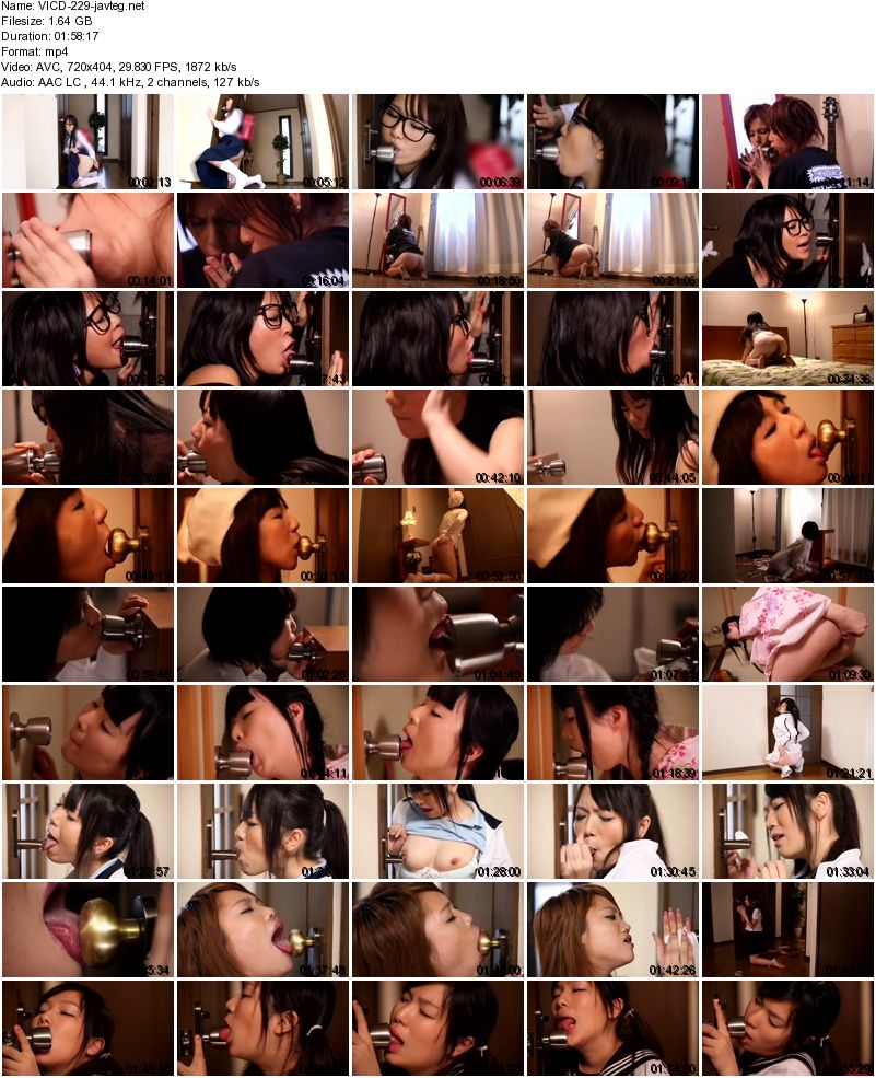 [VICD-229] 某番組で話題の!!ドアノブに恋した少女 Certain Of The Topic In The Program! !Girl Fell In Love With Doorknob 1.64 GB