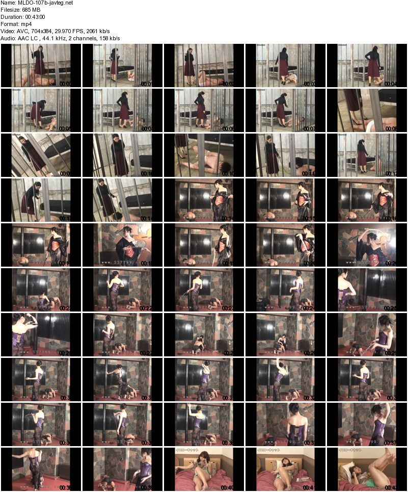 [MLDO-107] 女王様鞭打ち特集 3・ 4 Queen Whipping Special Feature 3, 4 1.31 GB