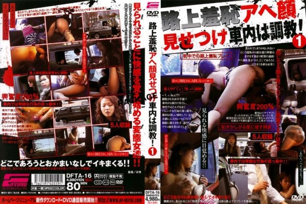 [DFTA-16] 路上羞恥アヘ顔見せつけ車内は調教! 1 Torture Shyness Is Confronted On The Street Car-wrestling! One 448 MB