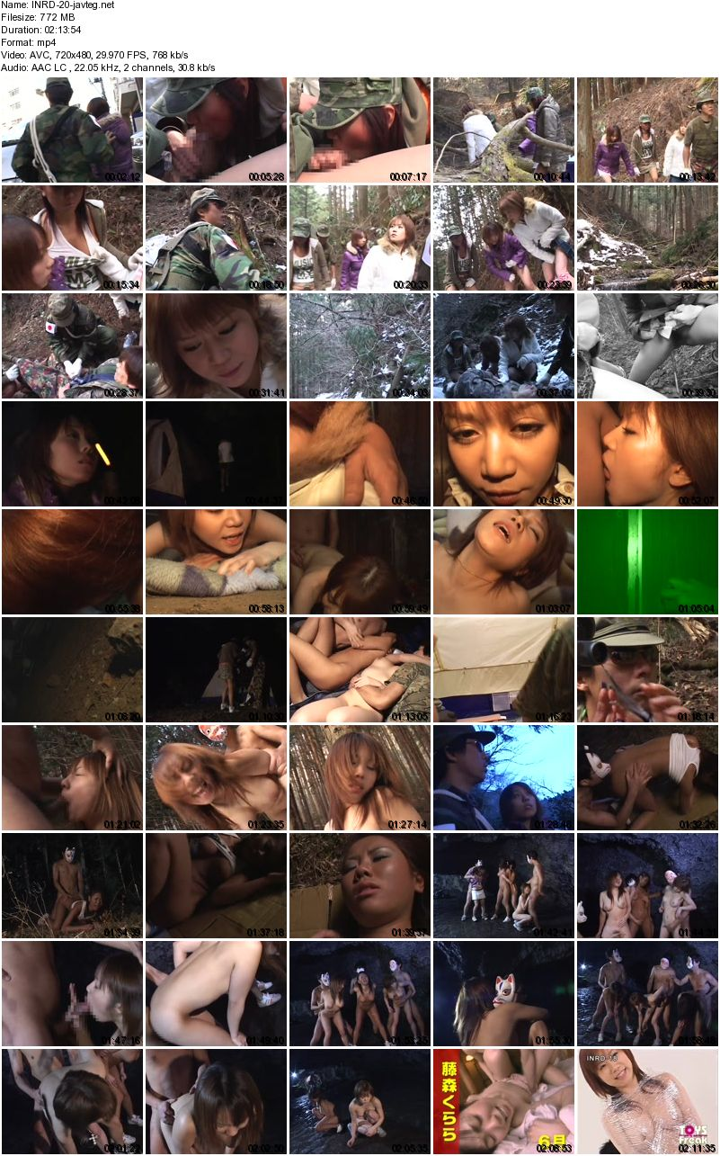 [INRD-20] レイプ魔人を探せ! People Are Looking For Rapist! 772 MB